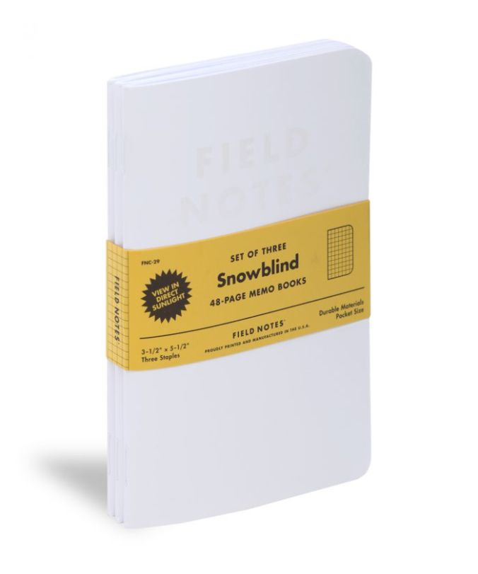 Field Notes, Snowblind, Journal, Diary, travel, gouda life, KC Cheese Blog, KC Travel Blog